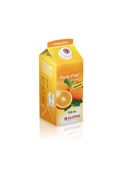 Pure-Pak Sense aseptic medium juice
